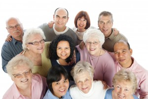 Diverse Senior Adults