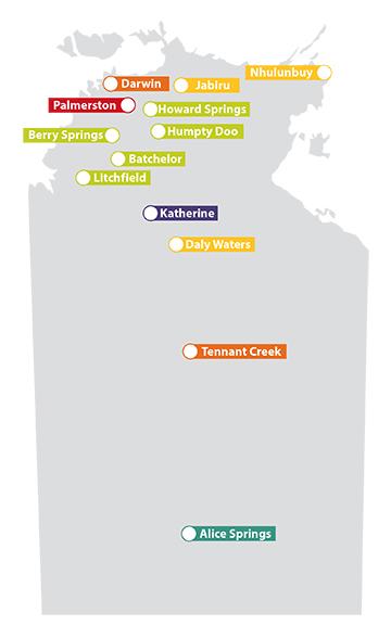 COTA NT Map