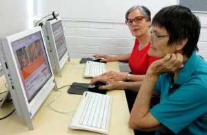 Teaching seniors to use the Internet is invaluable