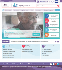 my-aged-care-website-snapshot