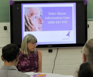 The Northern Territory's Elder Abuse information Line – 1800 037 072 – offers support, help and advice