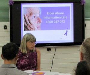 Elder Abuse Information Line – 1800 037 072.