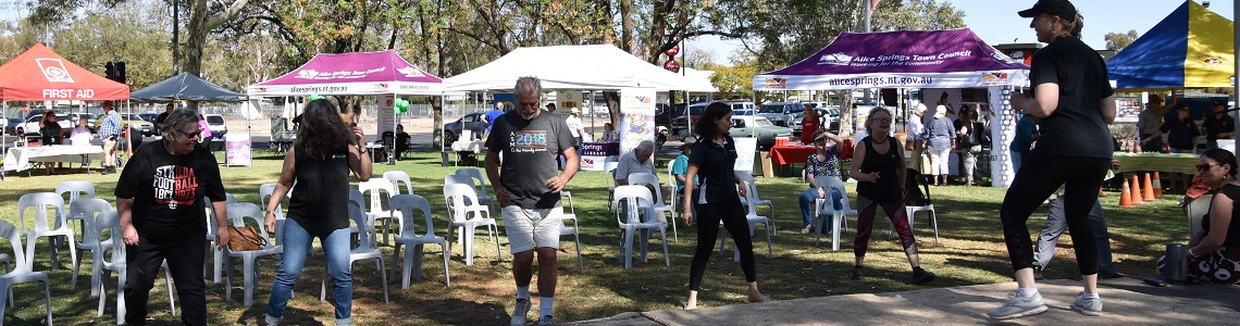Alice Springs Health and Wellness Day 2020