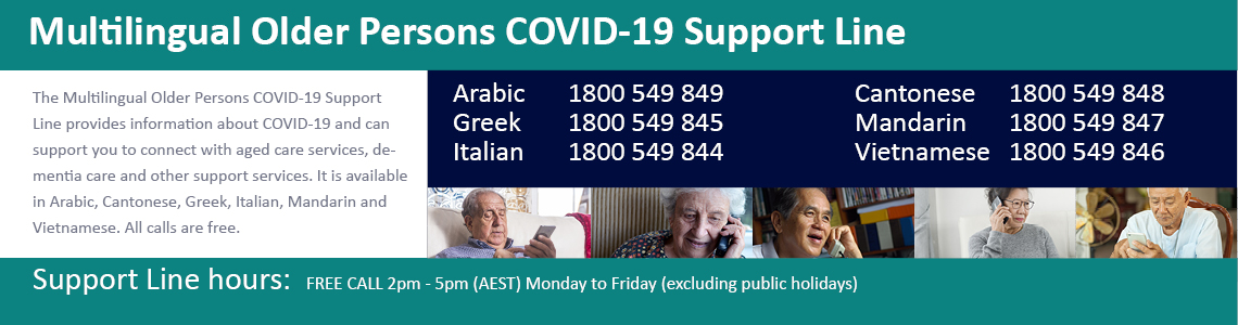 Multilingual Older Persons COVID-19 Support Line