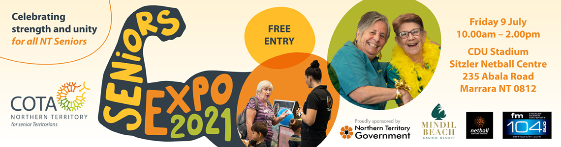 Seniors Expo 2021 – LATE registrations only