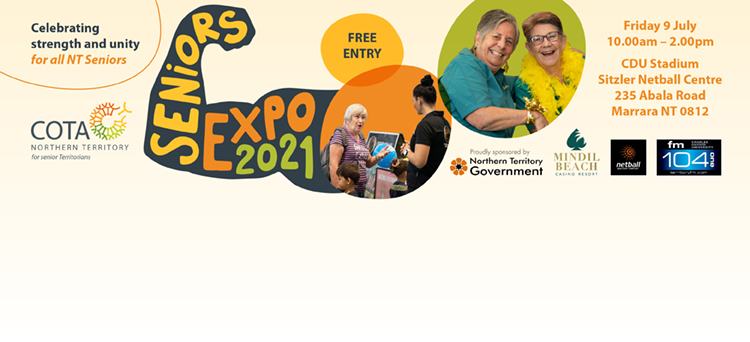 Seniors Expo 2021 - SAVE THE DATE